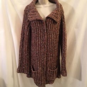Free People Thick Chunky Knit Long Sweater